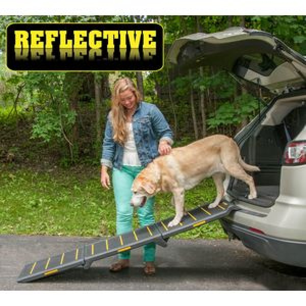 PG9300RF reflective extra wide pet ramp
