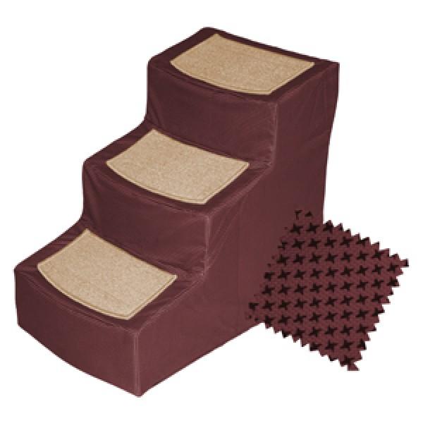 PG9823DBG designer pet stair III pet gear