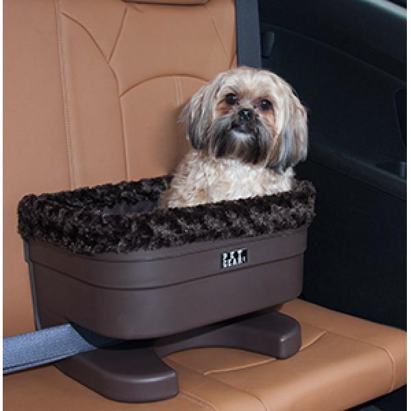 chocolate pet booster seat bucket seat